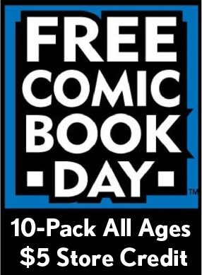 FCBD All Ages 10 Pack & $5 Store Credit