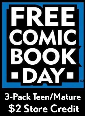 FCBD Teen/Mature 3 Pack & $2 Store Credit