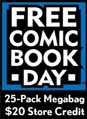 FCBD 25 Pack Megabag & $20 Store Credit