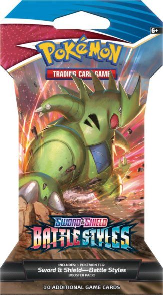 Pokemon Battle Styles Check Out Sleeved Booster Pack (Release 3/15/2021)