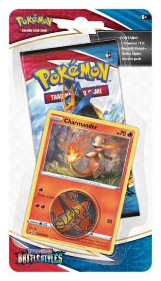 Pokemon Battle Styles Check Out Blister W/Coin & Card – Random (Release 3/15/2021)