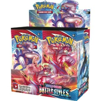 Pokemon Battle Styles Booster Box (That's 36 Packs!) (Release 3/15/2021)