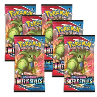 Pokemon Battle Styles 6x Booster Packs (Release 3/15/2021)