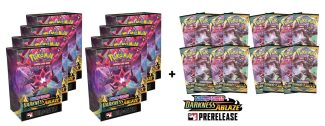 8x Darkness Ablaze Pre-release Pack & 16 Boosters