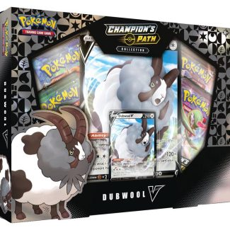POKEMON CHAMPIONS PATH DUBWOOL V COLLECTION