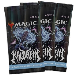 3x KALDHEIM Collector Boosters (2/5 Release)