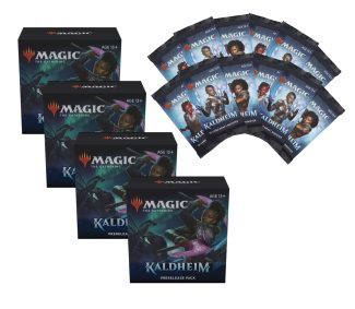 4x KALDHEIM Prerelease Pack (w/12 Draft Boosters)