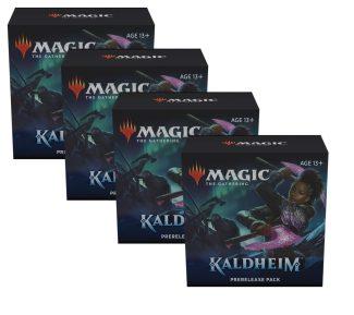 4x KALDHEIM Prerelease Pack (Solo)