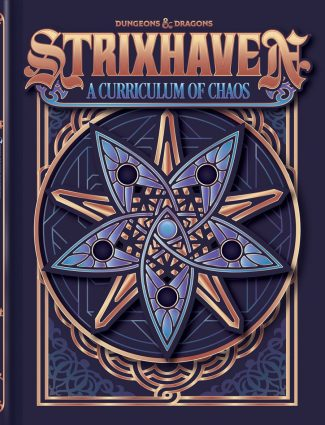 D&D 5th Edition: Strixhaven – Curriculum Of Chaos (Alternate Cover)