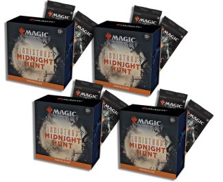 4x PRERELEASE PACK W/8 Boosters