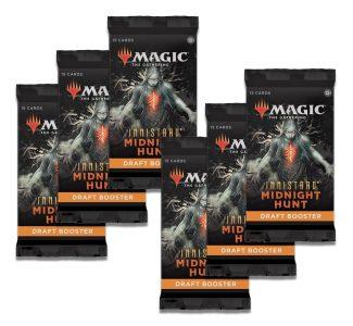 MTG: INNISTRAD MIDNIGHT HUNT 6x Draft Booster Packs