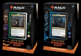 MTG: INNISTRAD MIDNIGHT HUNT COMMANDER DECKS Set Of 2