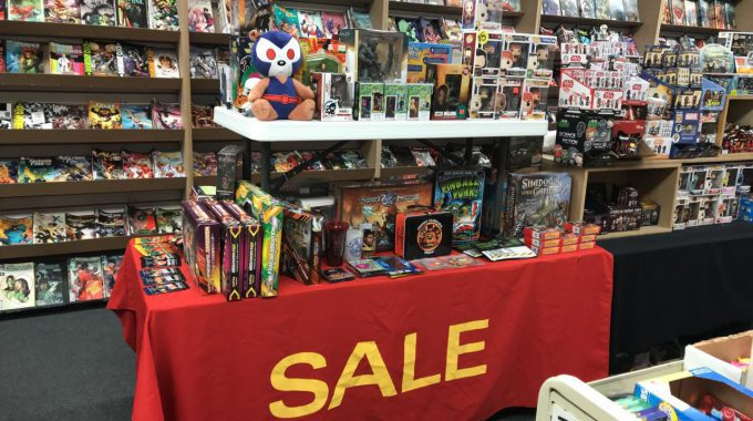 SALE PRICED TRADES & HCs RETURN ALONG WITH OUR SALE TABLE