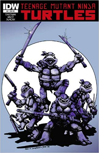 TMNT #2 The Jetpack Edition IDW 2011