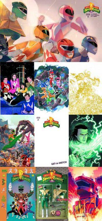 Power Rangers #1 (10 Pack)