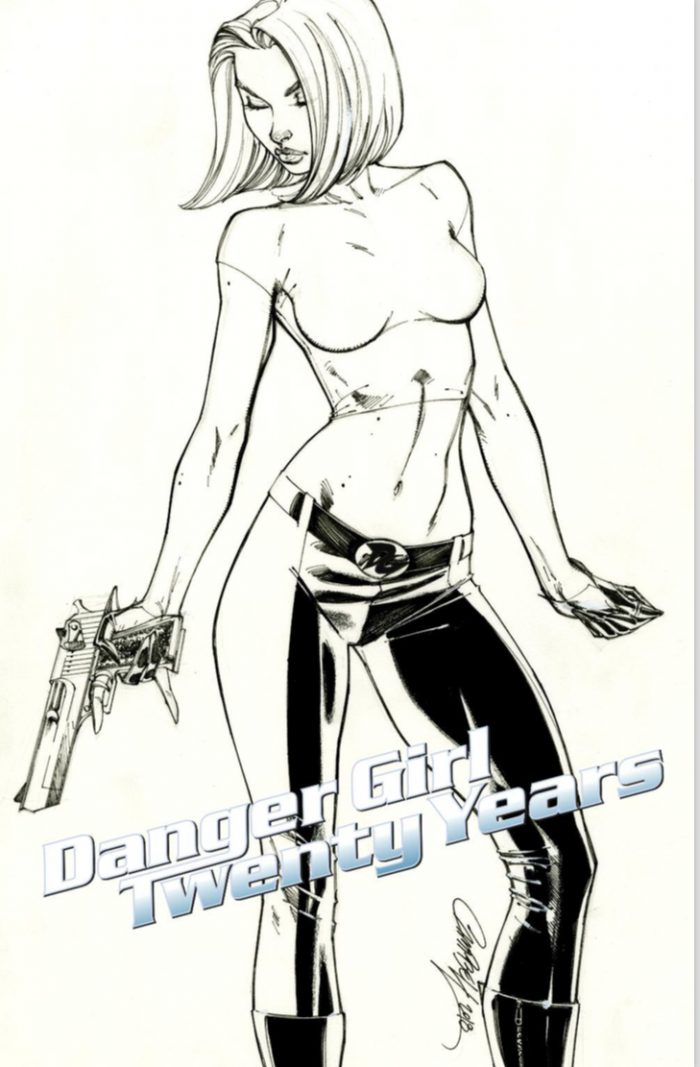 "Danger Girl (20 YEARS ""Incentive Variant"")"