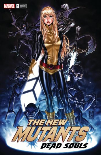 New Mutants Dead Souls (Mark Brooks Ltd Variant Cover A Origins)