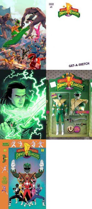 Power Rangers #1 (5 Pack)