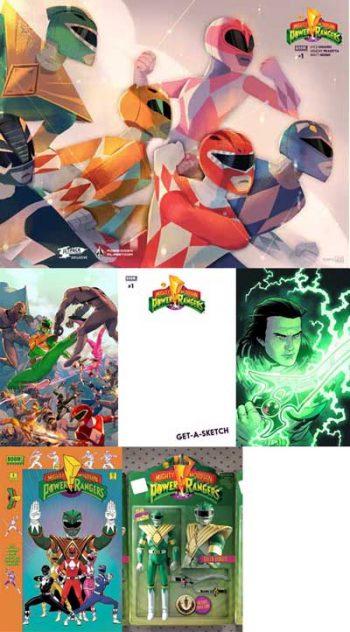 Power Rangers #1 (6 Pack)