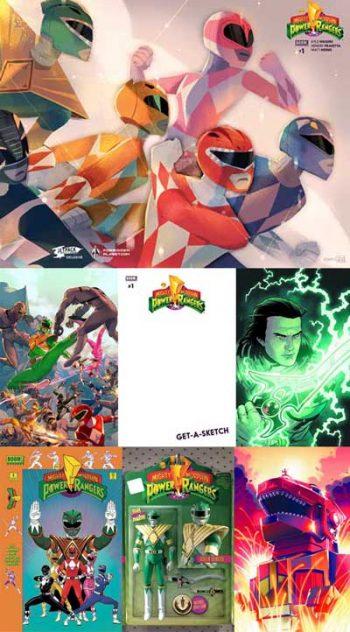 Power Rangers #1 (7 Pack)