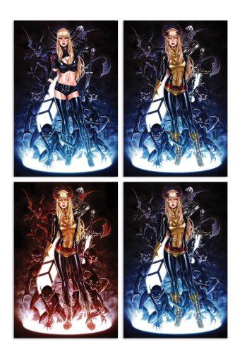 New Mutants Dead Souls (Mark Brooks Ltd Variant Cover Set A B C D)