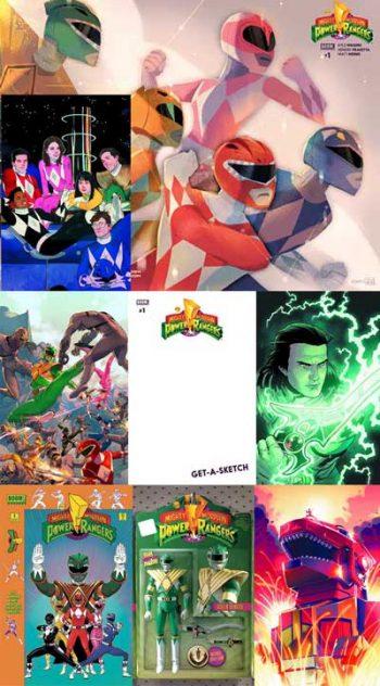 Power Rangers #1 (8 Pack)