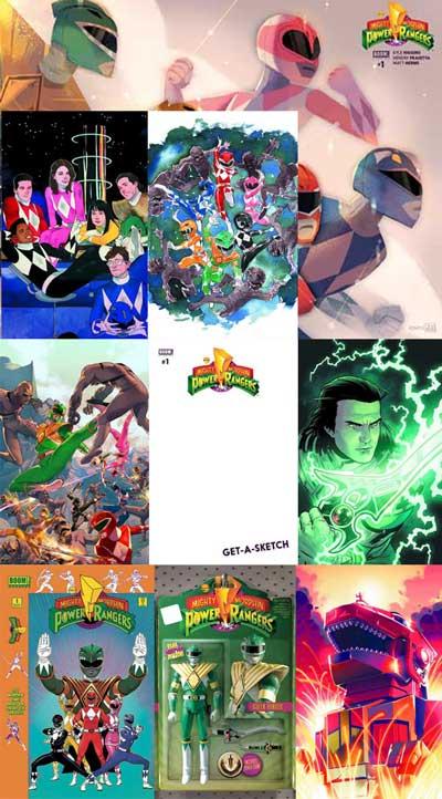 Power Rangers #1 (9 pack)