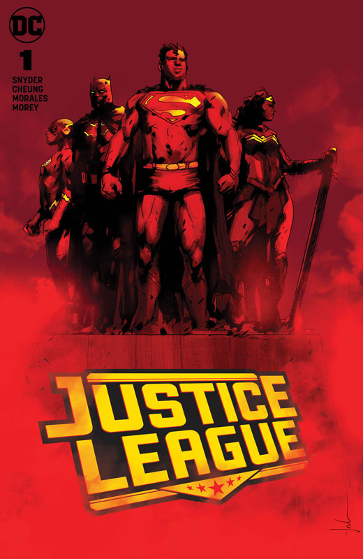 Justice League #1 (Jetpack Comics / Forbidden Planet Jock Exclusive)