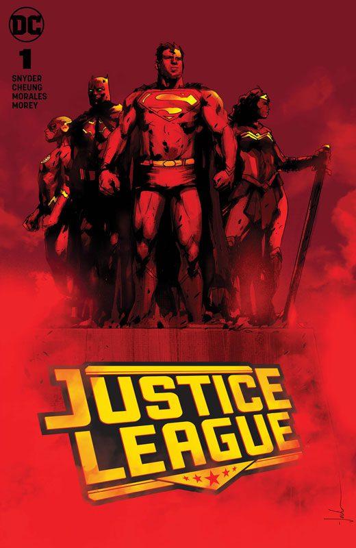 Justice League #1 (Jetpack Comics / Forbidden Planet Jock Exclusive)