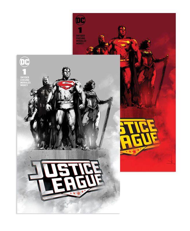 Justice League #1 (Jetpack Comics / Forbidden Planet Jock Exclusive A+B SET)