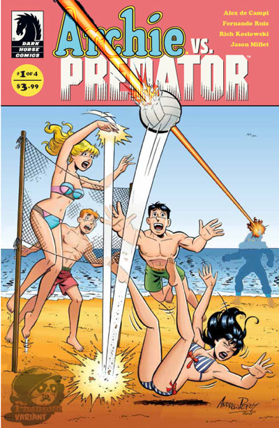 Archie Vs. Predator #1 (Phantom Variant)