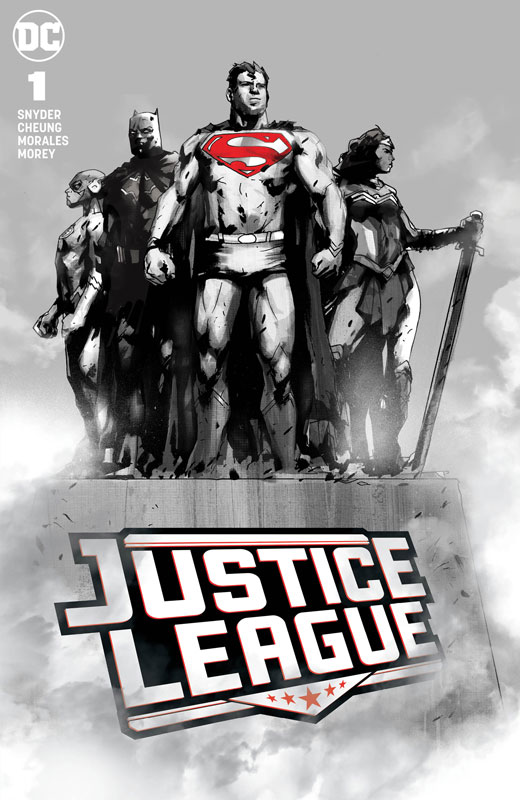 Justice League #1 (Jetpack Comics / Forbidden Planet Jock Monument Exclusive)