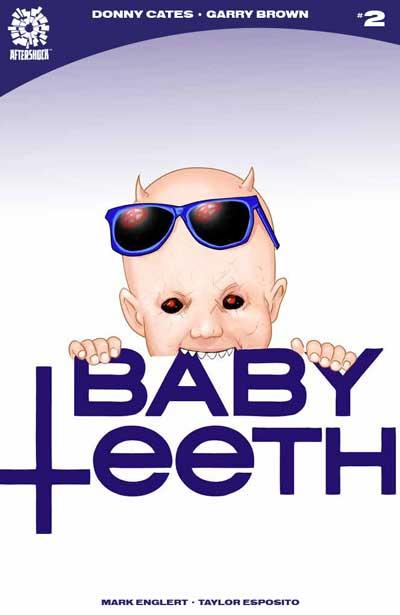 Babyteeth #2 (Jetpack Comics / Forbidden Planet Exclusive) Color Cover
