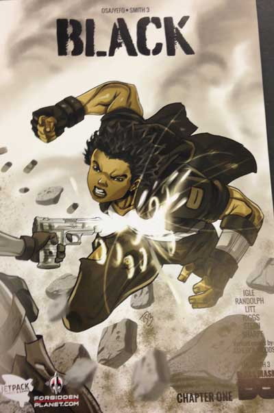 Black #1 (Jetpack Comics/Forbidden Planet Variant)