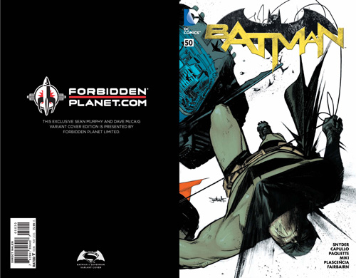 Batman #50 (Forbidden Planet /Jetpack Exclusive)