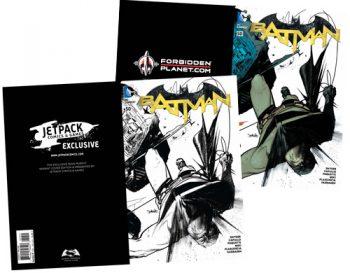 Pair Of Batman #50 (Forbidden Planet/Jetpack Exclusives)