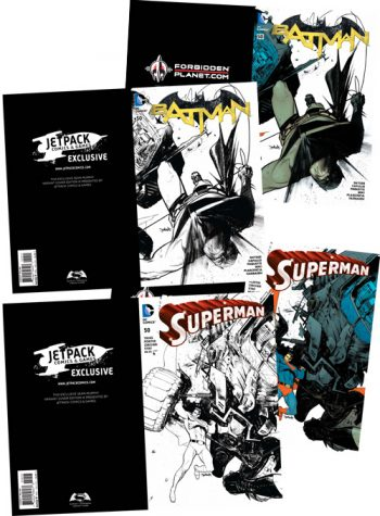 The Sean Murphy Superman / Batman Exclusive Four Pack