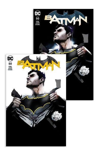 BATMAN #50 (JP / FP JOCK A, B COVER)