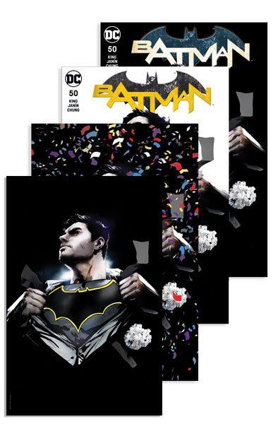 BATMAN #50 (JP / FP JOCK A, B, C, D COVER)