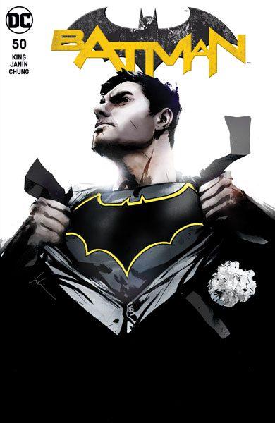 BATMAN #50 (JP / FP JOCK B COVER)