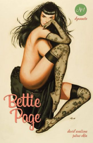BETTIE PAGE Vol 2 #1(Ron Lesser Jetpack Comics / Forbidden Planet Exclusive – All Remaining Copies Are Dinged)