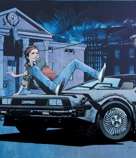 Back To The Future #1 (FP/JP Exclusive)