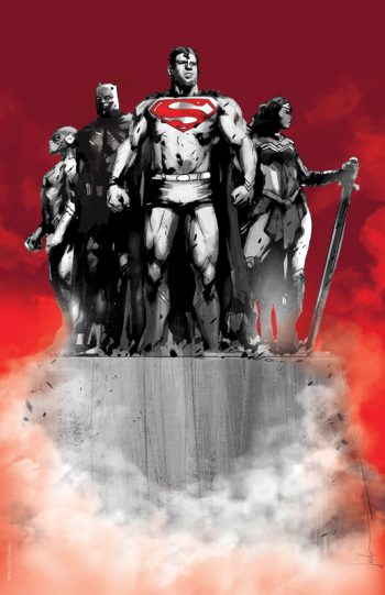 Justice League #1 (Jetpack Comics / Forbidden Planet Jock Exclusive Virgin Cover)