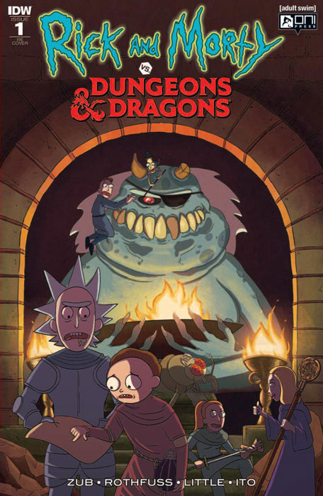 RICK & MORTY VS DUNGEONS & DRAGONS #1 (JETPACK COMICS FORBIDDEN PLANET EXCLUSIVE)