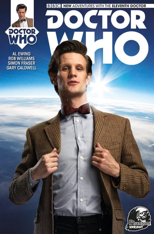 Doctor Who #1 Eleventh Doctor (Phantom Variant)