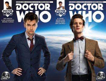 Doctor Who #1 X2 10th & 11th Doctor (Phantom Variant Pair)