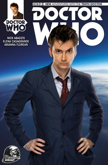 Doctor Who #1 Tenth Doctor (Phantom Variant)