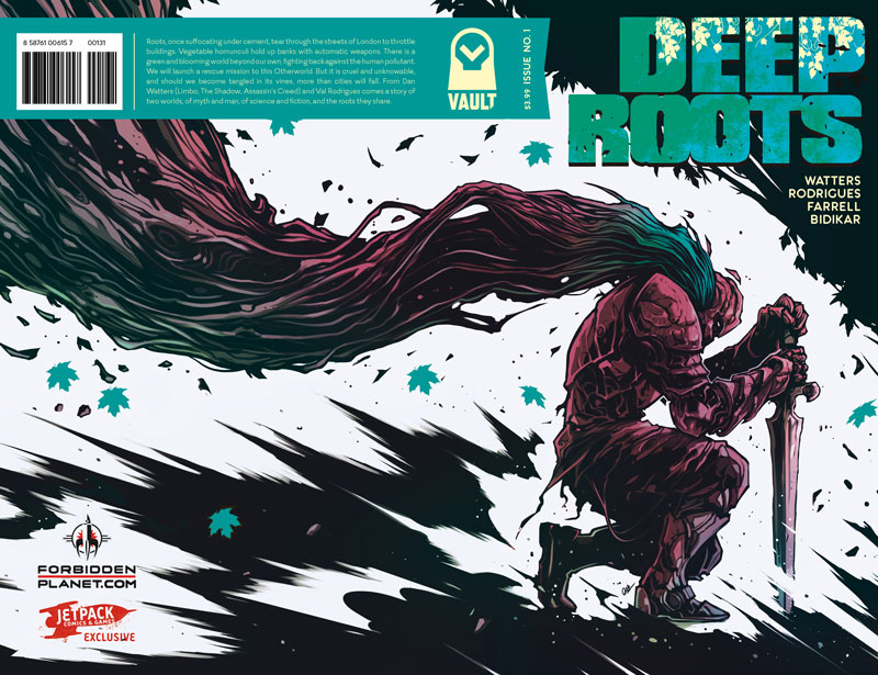 Deep Roots #1 (Jetpack Comics Limited Edition Exclusive)