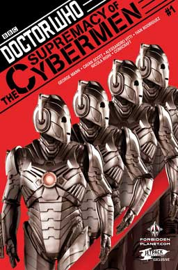 Doctor Who: Supremacy Of The Cybermen #1 (Jetpack Comics/Forbidden Planet)