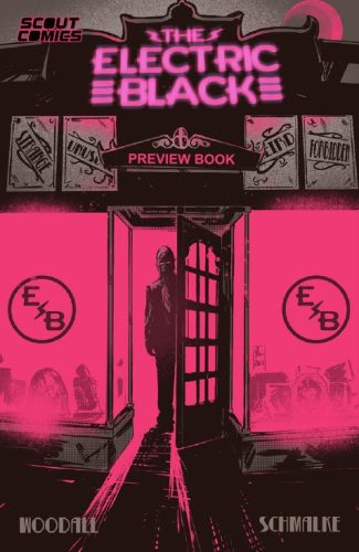 ELECTRIC BLACK (JETPACK / FORBIDDEN PLANET PREVIEW EDITION)